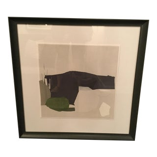 Crate & Barrel Jessica Belle Framed Abstract Print