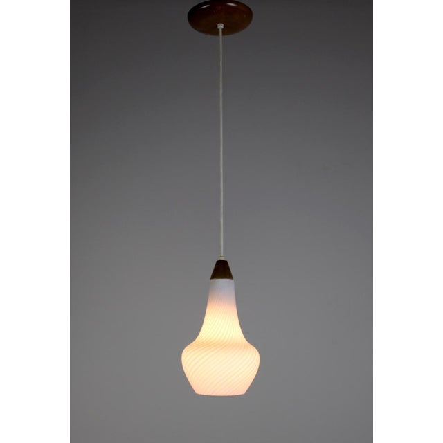 A Pair of Mid Century Pendant Lights - Image 5 of 8