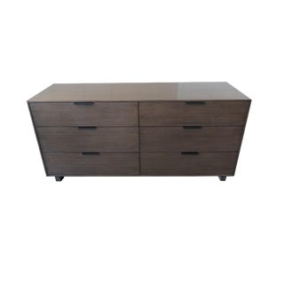 Crate & Barrel Mid Century Modern 6-Drawer Dresser