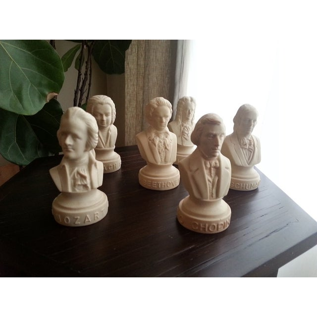 Famous Composer Busts - Set of 6 - Image 9 of 9