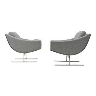 Pair of Kipp Stewart Arc Lounge Chairs