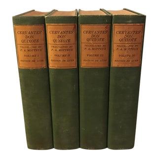 Don Quixote Books - 4 Volume Set