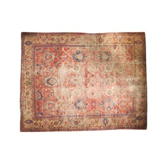 "Antique Mahal Carpet - 9'8"" x 12'5"""