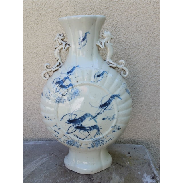 Image of Hand Painted Chinese Vase