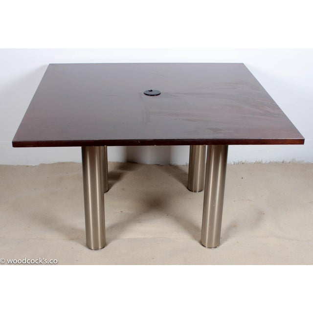 Knoll Reff Square 4ft Office Conference Table - Image 3 of 6