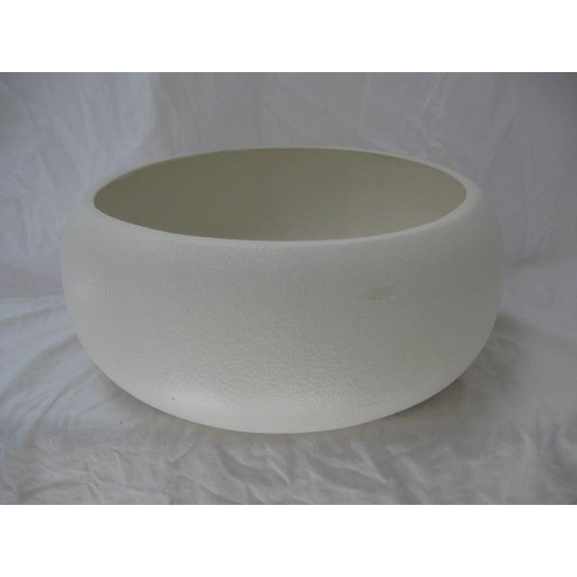 White Mid-Century Planter Bowl - Image 3 of 7