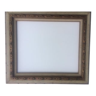 Mid-Century Gold Frame