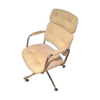 Mid-Century Vintage Steelcase Swivel Office Chair