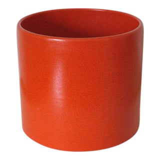 Gainey Ceramics AC-12 Planter in Bright Chrome Orange