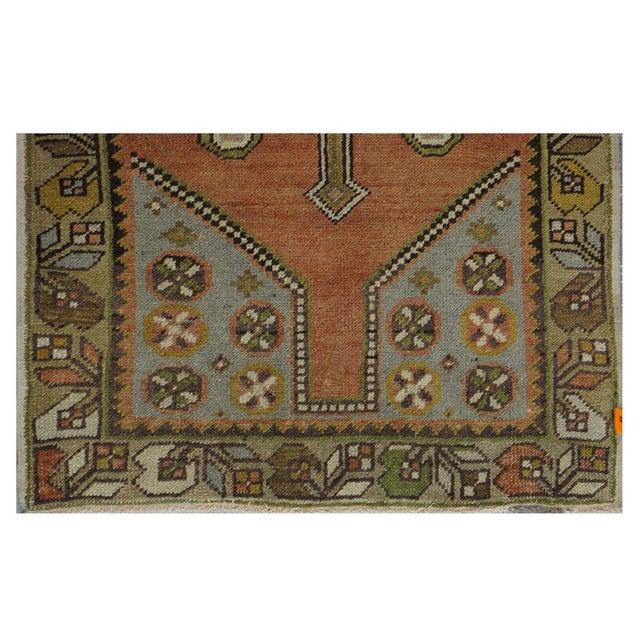 Image of Vintage Turkish Oushak Rug - 3′ × 5′8″