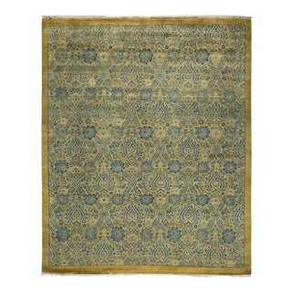 "Traditional Hand Knotted Area Rug - 8'2"" X 10'5"""