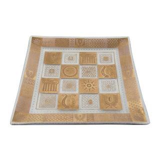 Georges Briard 22k Golden Celeste Plates - Pair
