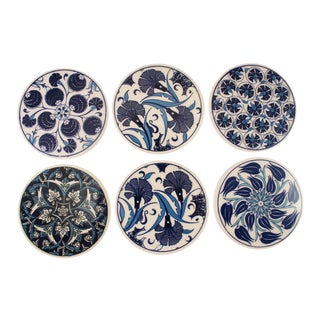 Iznik Ceramic Pottery | Navy and White