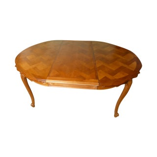 French Cherry Draw-Leaf Table