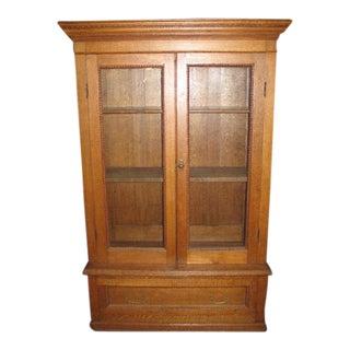 Antique American Oak Bookcase