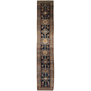 Antique Persian Heriz Hall Runner
