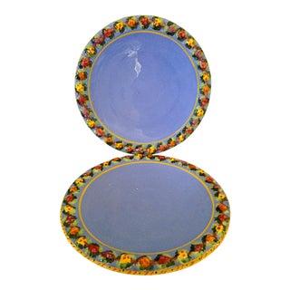 Pair of Italian Plates