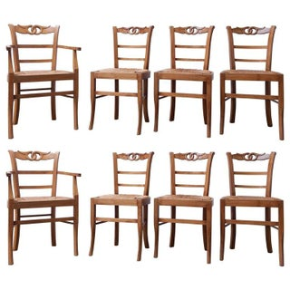 French Provincial Dining Chairs - Set of 8