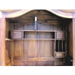 Image of Victorian Antique Style Armoire With Hidden Desk