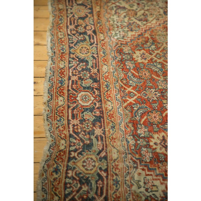 "Antique Mahal Square Carpet - 9'11"" x 9'8"" - Image 10 of 10"
