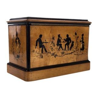 19th C. Antique English Wooden Box