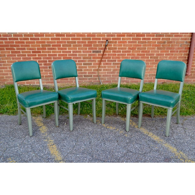 Image of Steelcase Mid Century Office Chairs - Set of 4