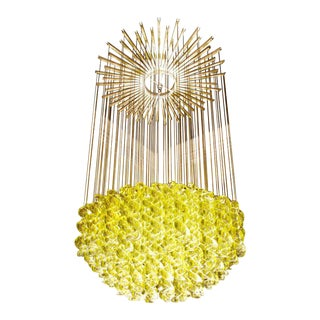 Exceptional Venetian Blow, Glass Pendant Light Fixture
