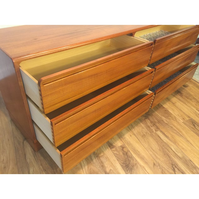 Torring Danish Modern Teak Dresser - Image 10 of 11