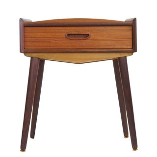 Danish Teak Bedside/Entryway Table