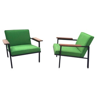 George Nelson Green Loungers- A Pair