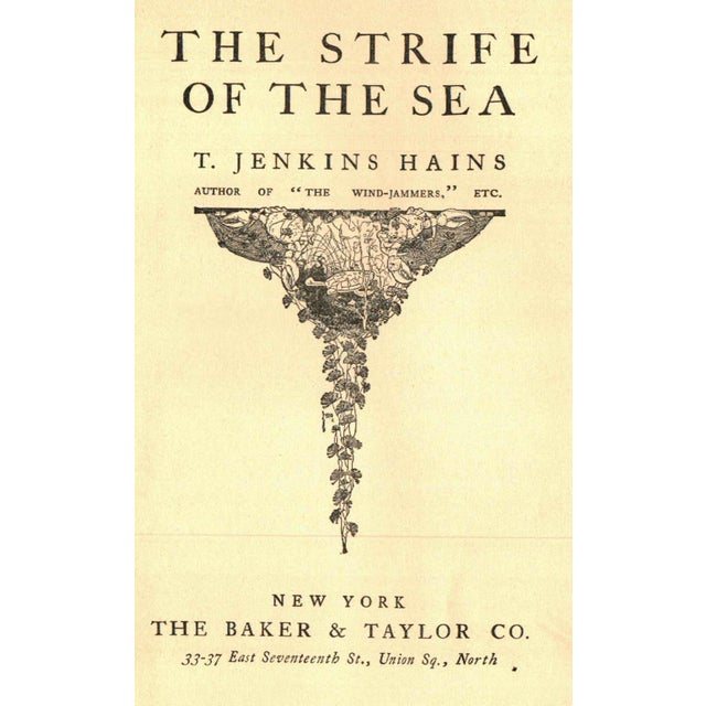'The Strife of the Sea' Book by T. Jenkins Hains - Image 2 of 5