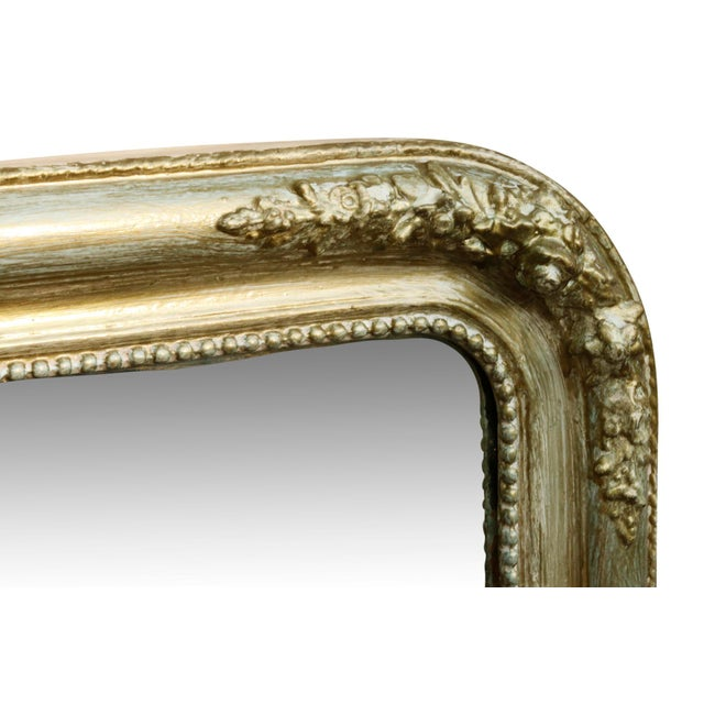 French Style Gold & Green Wall Mirror - Image 3 of 3
