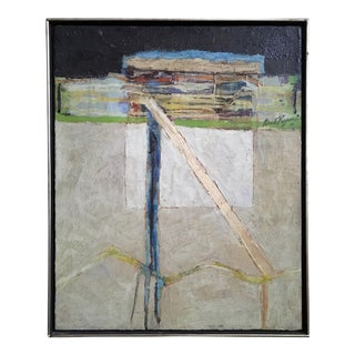 Robert G. Keyser Oil on Canvas Configuration Ii, 1961