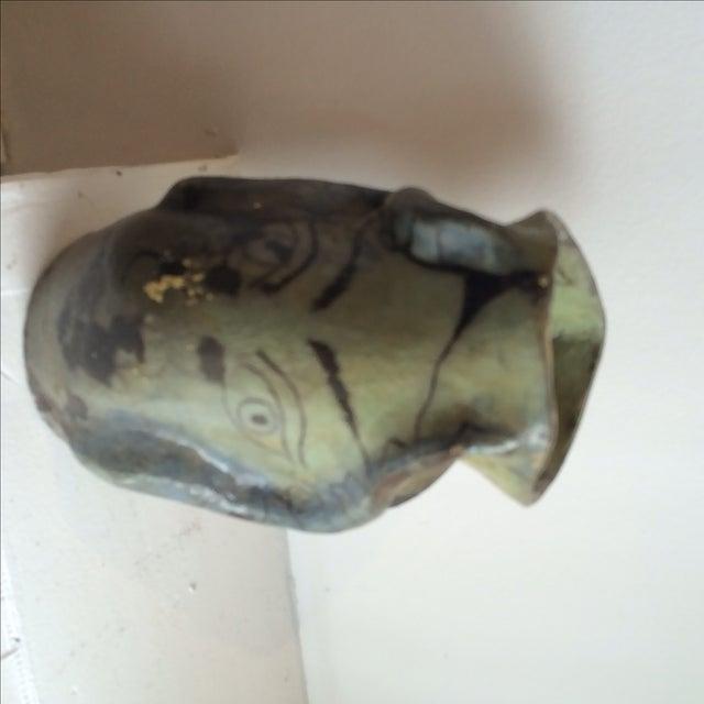 Image of Studio Ceramics Green Eyes Pottery Vase