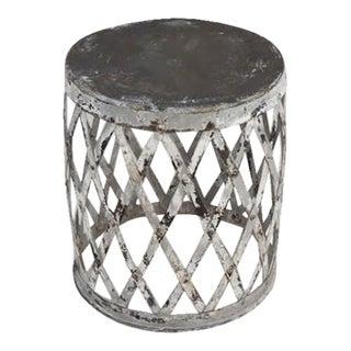 Vintage Iron Stool / Table