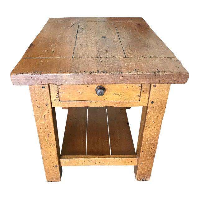crate barrel side table chairish. Black Bedroom Furniture Sets. Home Design Ideas