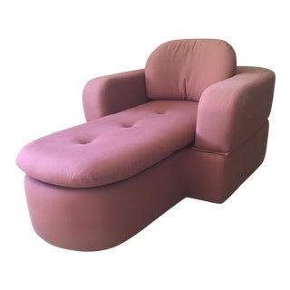 Vintage Mod Chaise Lounge