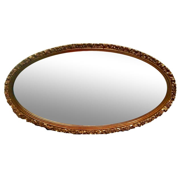 1920s Gilded Garland Mirror - Image 2 of 7