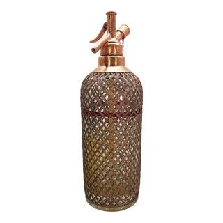 Vintage Copper Seltzer Bottle