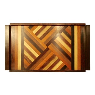 Parquetry Tray by Don Shoemaker