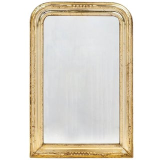 19th Century Antique French Gold Leaf Mirror