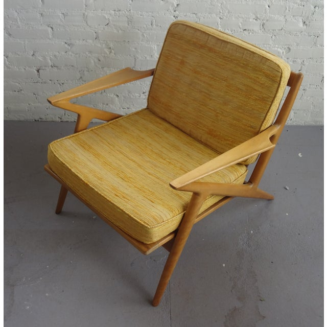 Danish modern poul jensen z chair chairish for Poul jensen z chair