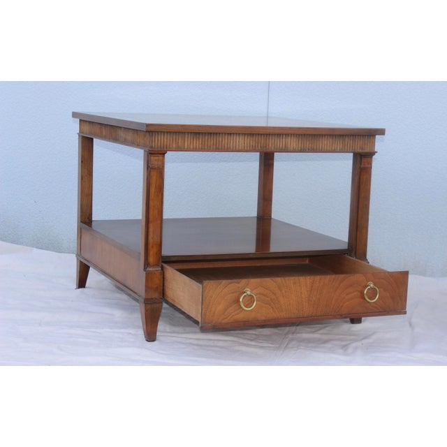 1960s Baker Tiered Nightstands - A Pair - Image 6 of 9