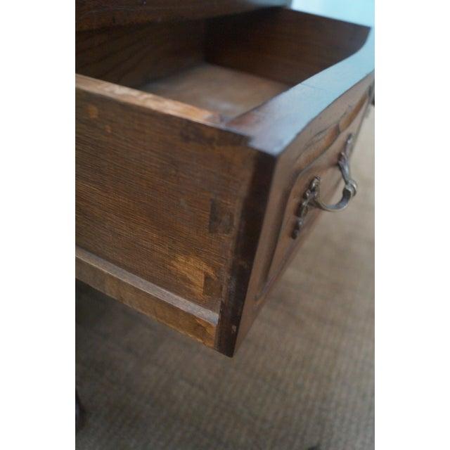 Image of Custom Made Walnut French Louis XV Nighttands