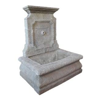 Limestone Wall Fountain