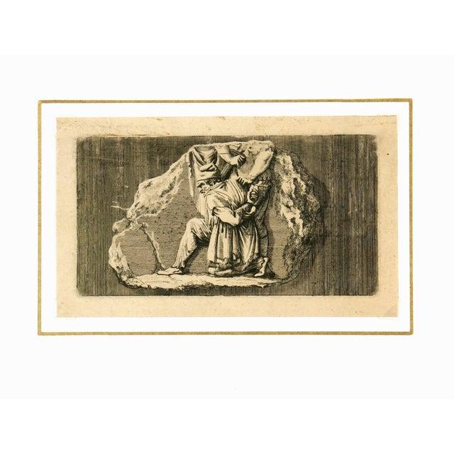 Antiquities Roman Empire Engraving, C. 1750 - Image 2 of 4