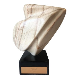 Diane Miller Abstract Marble Sculpture