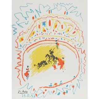 Pablo Picasso La Petit Corrida Lithograph