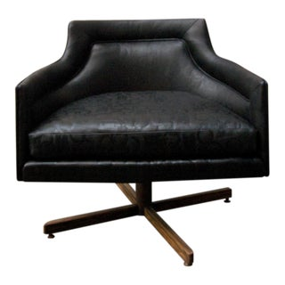Gucci-Style Swivel Chair