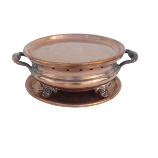 Antique French Copper Plate Warmer